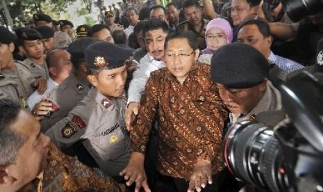 Anas Urbaningrum Penuhi Panggilan KPK
