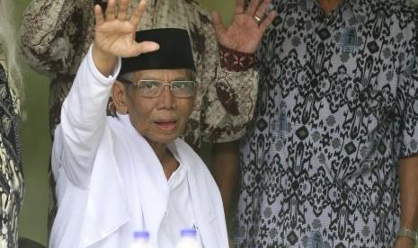Presiden Doakan Kesembuhan KH Hasyim Muzadi