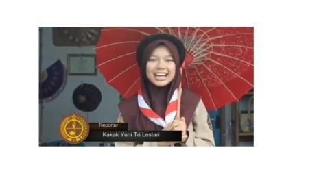 Pramuka Tasikmalaya Promosikan Payung Geulis Lewat Media Sosial