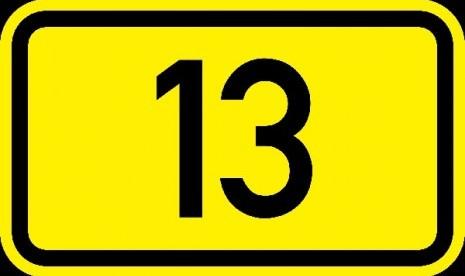 Cari Tahu Penyebab Angka 13 Jadi Sial?