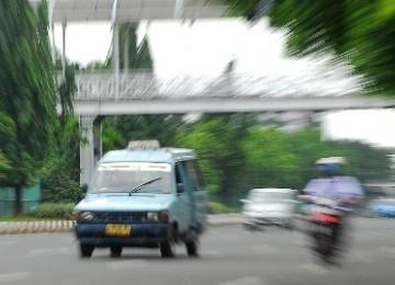 Angkot (ilustrasi)