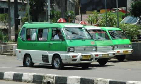 Angkutan kota di Bogor.     (Ilustrasi)