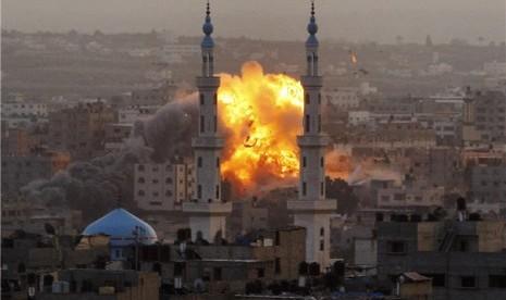 Israel Serang Sejumlah Kantor Media Massa