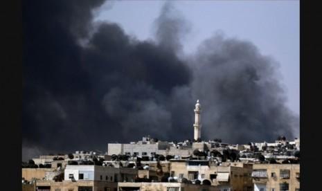Oposisi Suriah Rebut Bandara dari Militer Assad