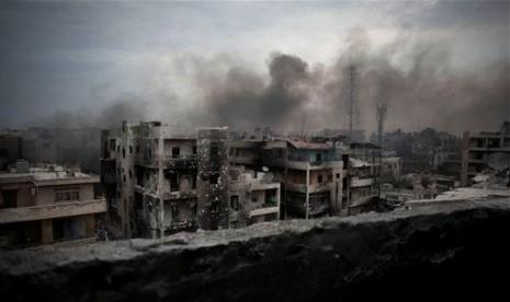 Gencatan Senjata Suriah Ternodai Serangan Bom Mobil