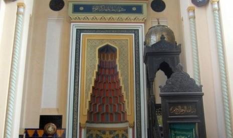 Bagian dalam Masjid Karol I Rumania