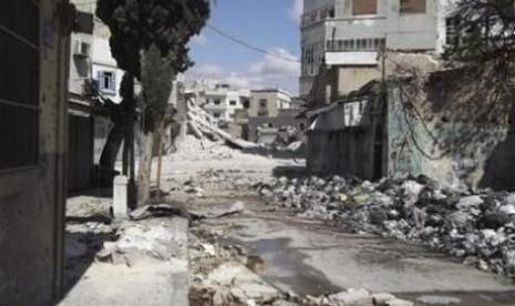 Pohon Penghalang Dibakar, Gerilyawan Suriah Cari Rute Baru ke Turki