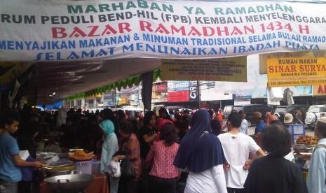 Bazar Ramadhan Pasar Benhil Jakarta