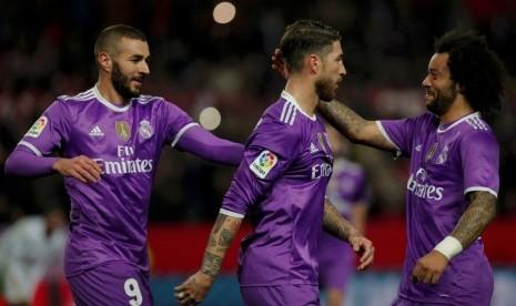 Madrid Tumbangkan Rekor Barcelona