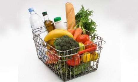 Belanja di supermarket (ilustrasi)