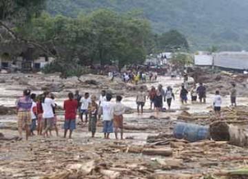 Bencana banjir bandang di Wasior