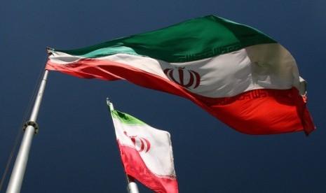 Bendera Iran  (ilustrasi)