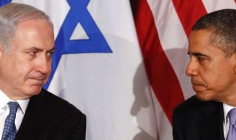 Benyamin Netanyahu dan Barack Obama