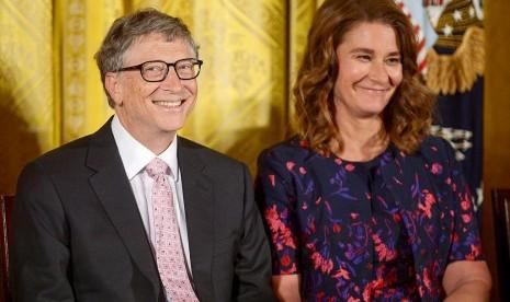 Jokowi meets Melinda Gates
