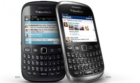 Blackberry Curve 9320 Amstrong Meluncur Dipasar Global | Republika