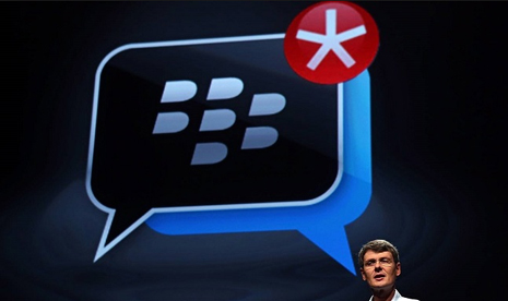 BlackBerry Messenger.
