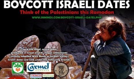 Muslim AS: Tolak Kurma Israel!