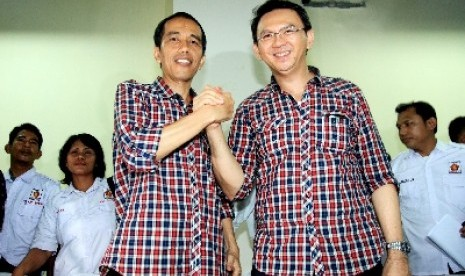 Cagub-Cawagub DKI Jakarta Jokowi-Ahok