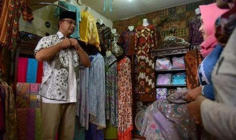 Belajar dari Pekalongan, Anies Ingin Jakarta jadi Kota Kreatif Lewat Batik