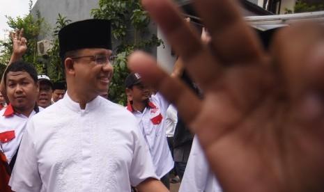 Ridwan Baswedan Selalu Dampingi Anies Selama Pilgub DKI