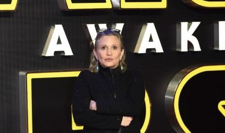 Carrie Fisher Seharusnya Jadi Pemimpin Force