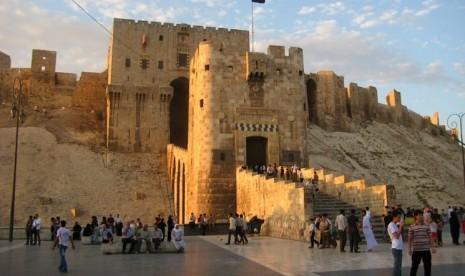 Citadel Aleppo di Suriah.