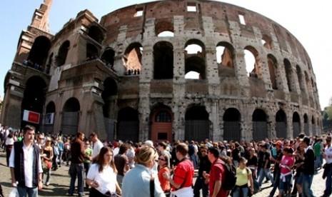 Coloseum Peninggalan Romawi kuno
