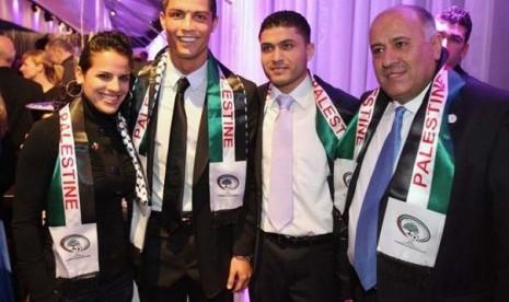 Dukung Palestina, Cristiano Ronaldo Dikecam Israel