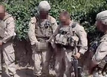 Cuplikan video tentara AS