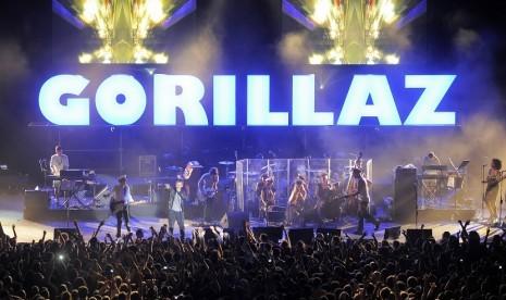 Gorillaz Lakukan Tur Amerika Setelah Tujuh Tahun