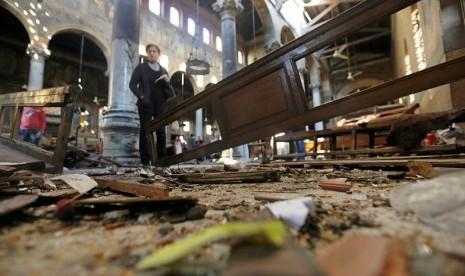 Kemenlu: Tak Ada Korban WNI dalam Serangan Bom Gereja Mesir