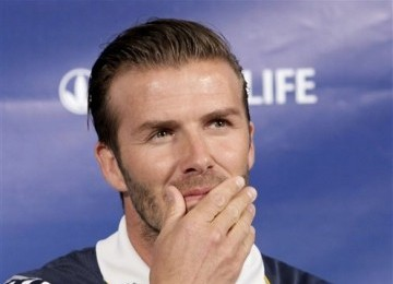 David Beckham: Bonjour (Halo), Paris!