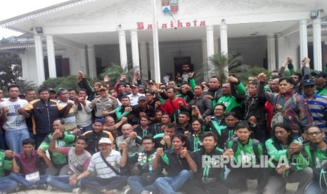 Sopir Angkot dan Ojek Online di Bogor Gelar Deklarasi Damai