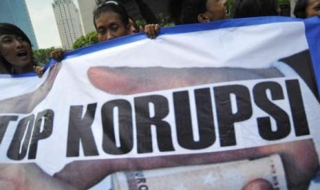 Demo Anti Korupsi (Ilustrasi)