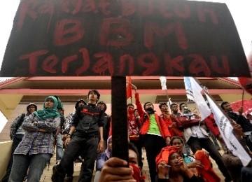 Demo Kenaikan BBM (ilustrasi)