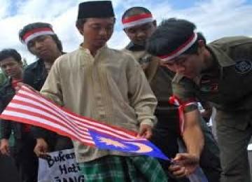 Demo anti Malaysia, ilustrasi