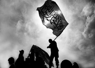 Demo massa Hizbut Tahrir Indonesia, ilustrasi