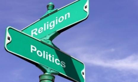 Demokrasi: politik atau agama (ilustrasi).