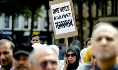 Demonstrasi anti ISIS
