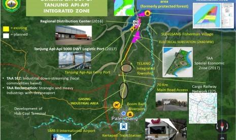 KEK Tanjung Api-Api Dapat Mendongkrak Ekspor Sumsel