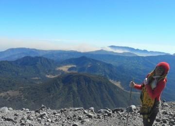 Di puncak Mahameru
