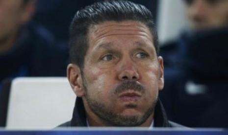 Ini Komentar Simeone Atas Kemenangan Atletico Madrid