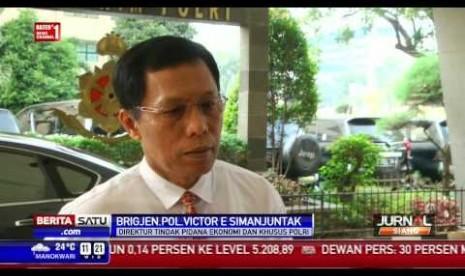 Direktur Tindak Pidana Ekonomi dan Khusus Bareskrim Polri Brigjen Victor E. Simanjuntak.
