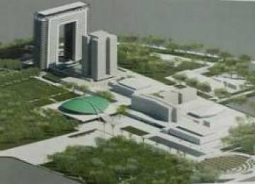 Disain gedung baru DPR