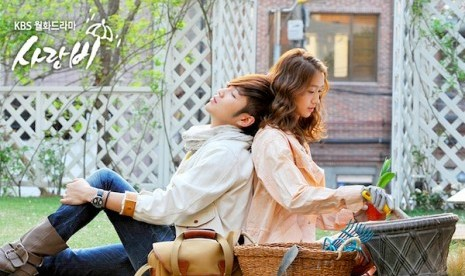 Drama Korea 'Love Rain'.