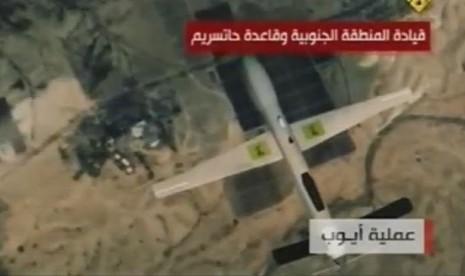 Drone Hizbullah Sadap Rahasia Militer Israel