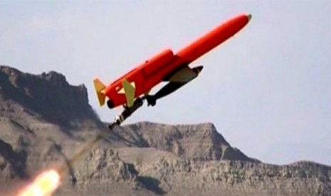 Iran Ciptakan Drone (VTOL) Pertama di Dunia