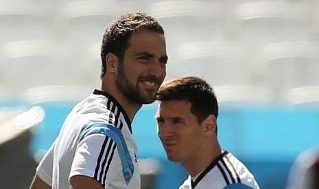 Crespo: Messi Unggul Jauh dari Higuain