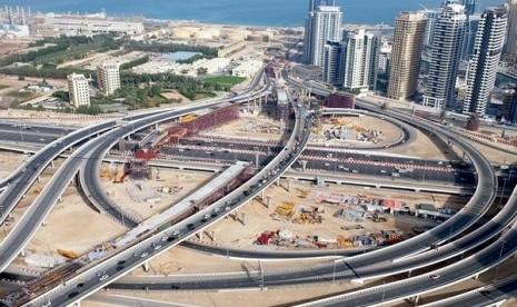 Dubai akan bangun Jembatan yang menghubungkan ke Pulau Bluewaters
