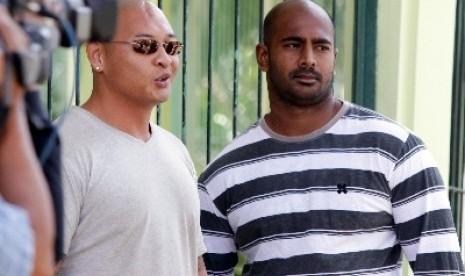 Duo Bali Nine, Myuran Sukumaran dan Andrew Chan.